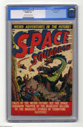 Golden Age (1938-1955):Science Fiction, Space Squadron #4 Bethlehem pedigree (Atlas, 1951) CGC VG/FN 5.0Cream to off-white pages. Overstreet 2004 VG 4.0 value = $9...