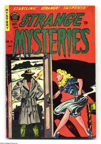 Strange Mysteries #19 (Superior, 1954) Condition: VF/NM. Matt Baker art. Could not be encapsulated due to an overhang. O...