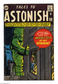 Silver Age (1956-1969):Horror, Tales to Astonish #34 (Marvel, 1962) Condition: FN. Jack Kirby andDick Ayers cover art. Don Heck, Steve Ditko, Kirby, and A...