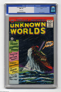 Unknown Worlds #47 Boston pedigree (ACG, 1966) CGC NM 9.4 Off-white pages. Johnny Craig and Al Williamson art. Overstree...