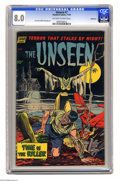 Golden Age (1938-1955):Horror, The Unseen #7 Bethlehem pedigree (Standard, 1952) CGC VF 8.0Off-white to white pages. Jack Katz and Mike Sekowsky art. A ce...