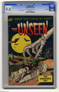 Golden Age (1938-1955):Horror, The Unseen #8 Bethlehem pedigree (Standard, 1953) CGC VF/NM 9.0Off-white pages. Mike Sekowsky art. This is the highest-grad...