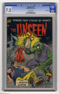 Golden Age (1938-1955):Horror, The Unseen #11 Bethlehem pedigree (Standard, 1953) CGC VF- 7.5Off-white pages. This is the only copy of this issue that CGC...