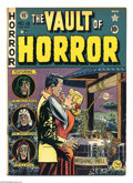 Golden Age (1938-1955):Horror, Vault of Horror #18 (EC, 1951) Condition: FN. Johnny Craig cover.Craig, Jack Davis, Jack Kamen, and Graham Ingels art. Over...