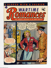 Wartime Romances #9 (St. John, 1952) Condition: FN. Matt Baker cover and art. Two early stories drawn by Ric Estrada. Ov...