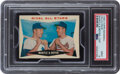 """Baseball Cards:Unopened Packs/Display Boxes, 1960 Topps Baseball (2nd Series) Unopened Cello Pack PSA Mint 9 - With """"Rival All Stars"""" Mantle/Boyer on Top! ..."""