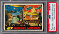 """Non-Sport Cards:Singles (Post-1950), 1962 Mars Attacks """"Watching From Mars"""" #13 PSA NM-MT 8...."""