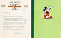 Memorabilia:Miscellaneous, Kay Kamen Letter and Disney Consumer Products Guide (Walt Disney, 1934). ... (Total: 2 )