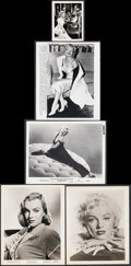 """Movie Posters:Miscellaneous, Marilyn Monroe Lot (Various, 1950s). Overall: Fine/Very Fine. Photos (5) (8"""" X 10"""" & 4"""" X 5""""). Miscellaneous.. ... (Total: 5 Items)"""