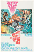 """Movie Posters:Adventure, Around the World, Under the Sea (MGM, 1966). Folded, Very Fine-. One Sheet (27"""" X 41"""") Frank McCarthy Artwork. Adventure.. ..."""