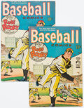 Golden Age (1938-1955):Miscellaneous, Baseball Comics #1 Group of 2 (Will Eisner, 1949) Condition: Average VG.... (Total: 2 Comic Books)