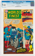Silver Age (1956-1969):Superhero, World's Finest Comics #169 (DC, 1967) CGC NM+ 9.6 White pages....