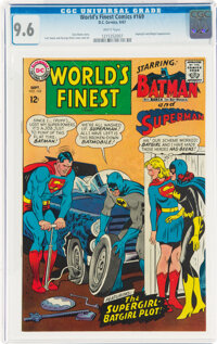 World's Finest Comics #169 (DC, 1967) CGC NM+ 9.6 White pages