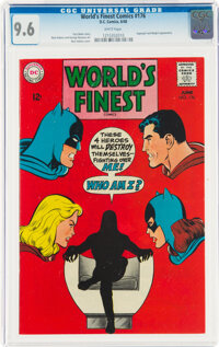 World's Finest Comics #176 (DC, 1968) CGC NM+ 9.6 White pages