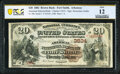 National Bank Notes:Arkansas, Fort Smith, AR - $20 1882 Brown Back Fr. 496 The American National Bank Ch. # 3634 PCGS Banknote Fine 12.. ...