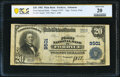 National Bank Notes:Arkansas, Fordyce, AR - $20 1902 Plain Back Fr. 652 The First National Bank Ch. # 9501 PCGS Banknote Very Fine 20.. ...