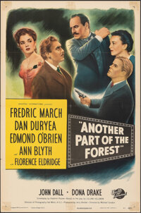 """Another Part of the Forest (Universal International, 1948). Folded, Fine/Very Fine. One Sheet (27"""" X 41""""). Dra..."""