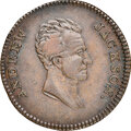 (1832) Andrew Jackson, Low-1, HT-1, W-09-10a, High R.5, XF45 NGC. Copper, reeded edge. The three known obverse types of...