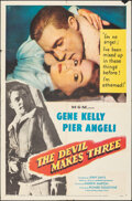 """Movie Posters:Thriller, The Devil Makes Three & Other Lot (MGM, 1952). Folded, Fine+. One Sheets (2) (27"""" X 41""""). Thriller.. ..."""