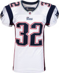 Football Collectibles:Uniforms, 2010 Devin McCourty Game Worn New England Patriots Rookie Jersey....