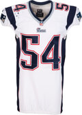 Football Collectibles:Uniforms, 2013 Dont'a Hightower Game Worn New England Patriots Jersey....