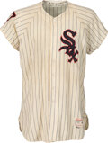 """Baseball Collectibles:Uniforms, 1959 Game Worn Chicago White Sox Jersey (Earl Torgeson) & Pants (Ron Jackson) - """"Go-Go White Sox"""" Championship Season!... (Total: 2 items)"""