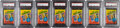 Basketball Cards:Unopened Packs/Display Boxes, 1980-81 Topps Basketball PSA NM-MT 8 Unopened Wax Packs (7). ...