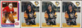 Hockey Cards:Lots, 1985 to 1986 Topps Hockey Collection (4). ...