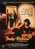 """Movie Posters:Crime, Pulp Fiction (Scotia, 1994). Folded, Very Fine. German A1 (23.25"""" X 33""""). Crime.. ..."""