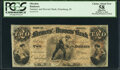 Obsoletes By State:Indiana, Petersburg, IN- Farmers' and Drovers' Bank $2 Oct. 4, 1858 PCGS Apparent Choice About New 58.. ...