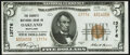 National Bank Notes:Maryland, Oakland, MD - $5 1929 Ty. 2 The Garrett National Bank Ch. # 13776 Crisp Uncirculated.. ...