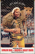 Movie Posters:Miscellaneous, Ringling Bros. and Barnum & Bailey Circus: Gunther Gebel-Williams (Ringling Bros. and Barnum & Bailey Combined Shows, 1978). F...