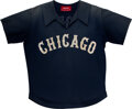 Baseball Collectibles:Uniforms, 1977-79 Bill Nahorodny Game Worn Chicago White Sox Disco Style Jersey, MEARS A7....