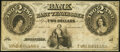 Chattanooga, TN- Bank of East Tennessee, Branch $2 May 1, 1855 G62a Fine-Very Fine