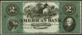 Obsoletes By State:Pennsylvania, (Philadelphia, PA)- Emanuel Bernheimer & Co., Grocer $2 ND (ca. 1870-80) Choice About Uncirculated.. ...