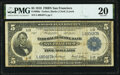 Large Size:Federal Reserve Bank Notes, Fr. 809a $5 1918 Federal Reserve Bank Note PMG Very Fine 20.. ...