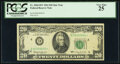 Small Size:Federal Reserve Notes, Low Serial Number 3 Fr. 2065-D* $20 1963 Federal Reserve Note. PCGS Very Fine 25.. ...