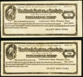 Hoquiam, WA- Gillett Drug Store 5¢; 10¢ ND (ca.1917-1920s) Remainders UNL About Uncirculated