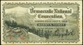 1908 Denver Colorado Democratic Convention Guest Ticket Extremely Fine-About Uncirculated