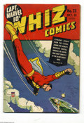 Golden Age (1938-1955):Superhero, Whiz Comics #23 (Fawcett, 1941) Condition: GD/VG. Only Dr. Voodoo story with George Tuska art. There are some scrapes on the...