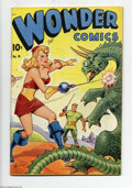 "Golden Age (1938-1955):Science Fiction, Wonder Comics #18 (Better Publications, 1948) Condition: FN/VF.""Xela"" (Alex Schomburg) cover art. The Silver Knight begins...."