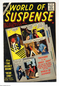 Silver Age (1956-1969):Mystery, World of Suspense #8 (Atlas, 1957) Condition: FN. Last issue.Overstreet 2004 FN 6.0 value = $60....