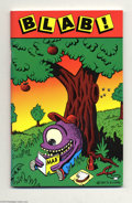 Modern Age (1980-Present):Alternative/Underground, Blab! #1 Limited Edition #1181/1500 (Kitchen Sink, 1986) Condition:VF/NM. Great little digest featuring various opinions on...