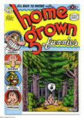 Modern Age (1980-Present):Alternative/Underground, Home Grown Funnies #nn (Kitchen Sink, 1971) Condition: NM-. Firstprinting. Cover and all art are by Robert Crumb. Jerry Wei...