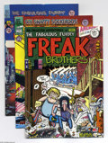 Bronze Age (1970-1979):Alternative/Underground, Underground Comix Group (Various, 1970s-90s). Big batch of Underground Comix and Trade Paperbacks, including Fabulous Furr... (Total: 9 Comic Books Item)