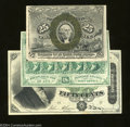 Fractional Currency:Second Issue, Three Fractionals.