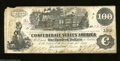 Confederate Notes:1862 Issues, T39 $100 1862. The upper left-hand corner of this $100 has ...