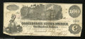 Confederate Notes:1862 Issues, T39 $100 1862. This crispy Straight Steam variety with ...