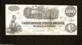 Confederate Notes:1862 Issues, T40 $100 1862. Quality workmanship is found on this C-note ...