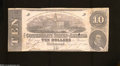 Confederate Notes:1862 Issues, T52 $10 1862. This example was printed by Evans & Cogswell....